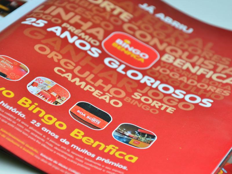 anuncio revista Benfica Bingo